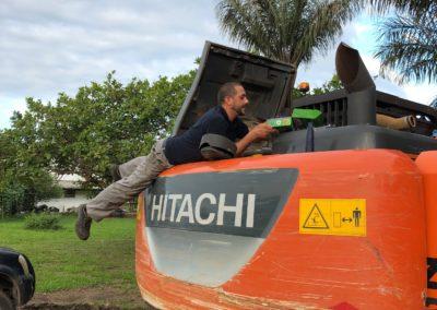 TP Hitachi Zaxis 210 LC II